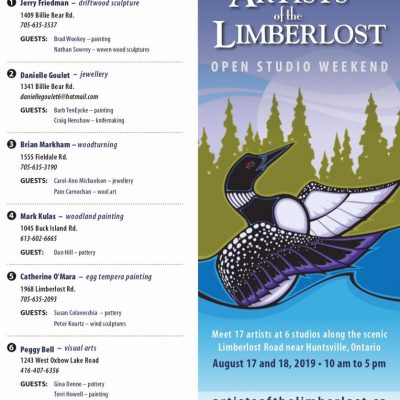 2019 Artists of the Limberlost Studio Tour